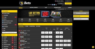 b-Bets Sportsbook Review India