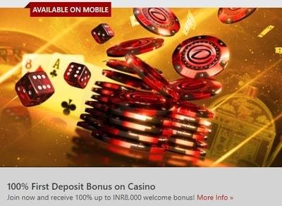 Dafabet Casino Review Get 100 Up To 8000 Welcome Bonus