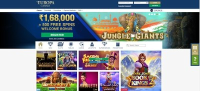 Europa Casino Review India
