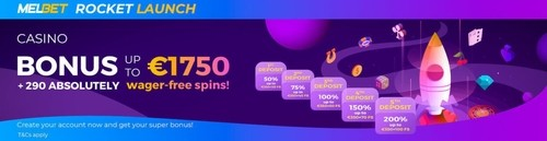 MELbet Casino Welcome Bonus
